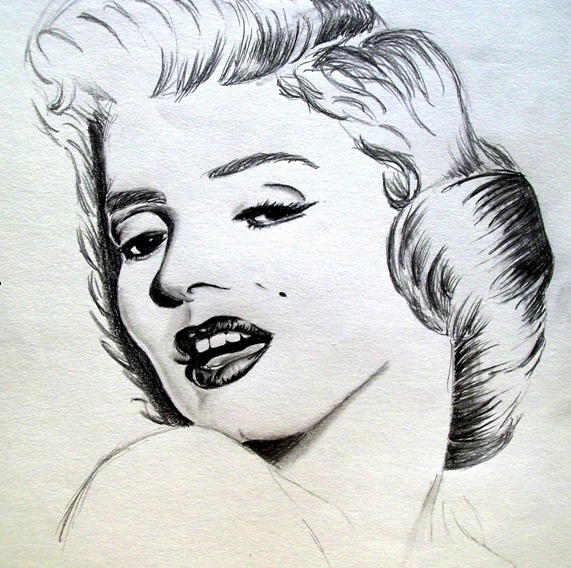 Marilyn Monroe par RequiemForADream